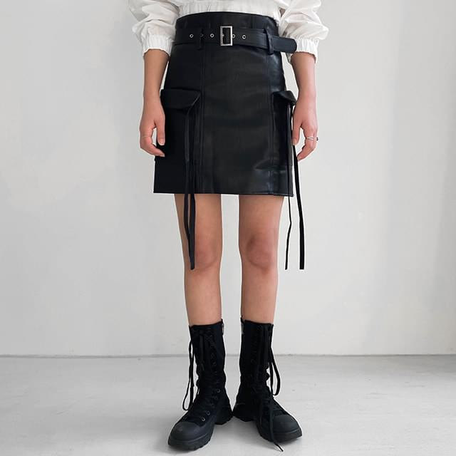 Pocket Roin Mini Skirt