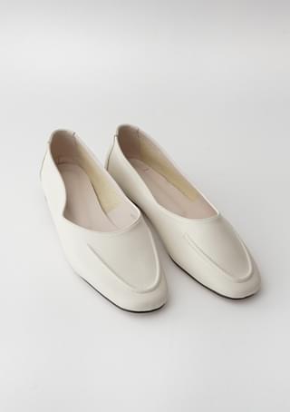 stitch line flat shoes (4colors)