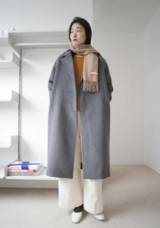 raglan non button coat (2colors)