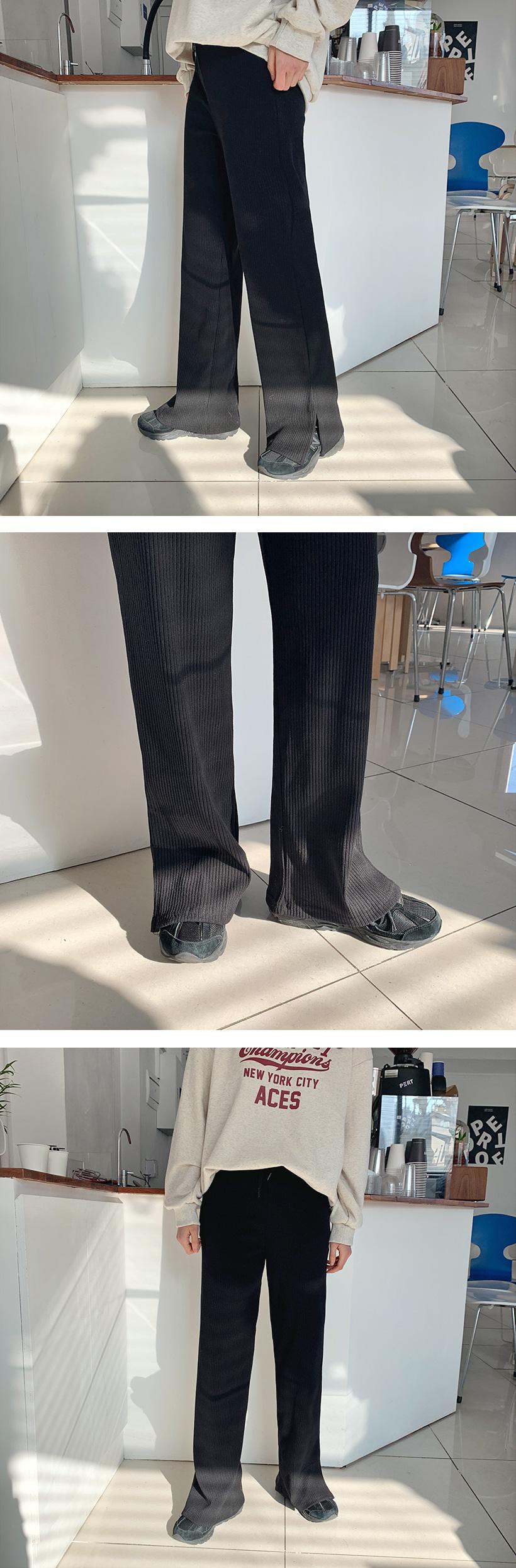 Golgi slit easy pants_Y