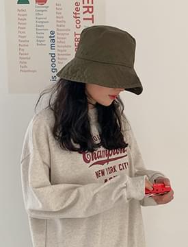 Daily cotton bucket hat_Y