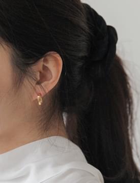 Minimal matt earring_U