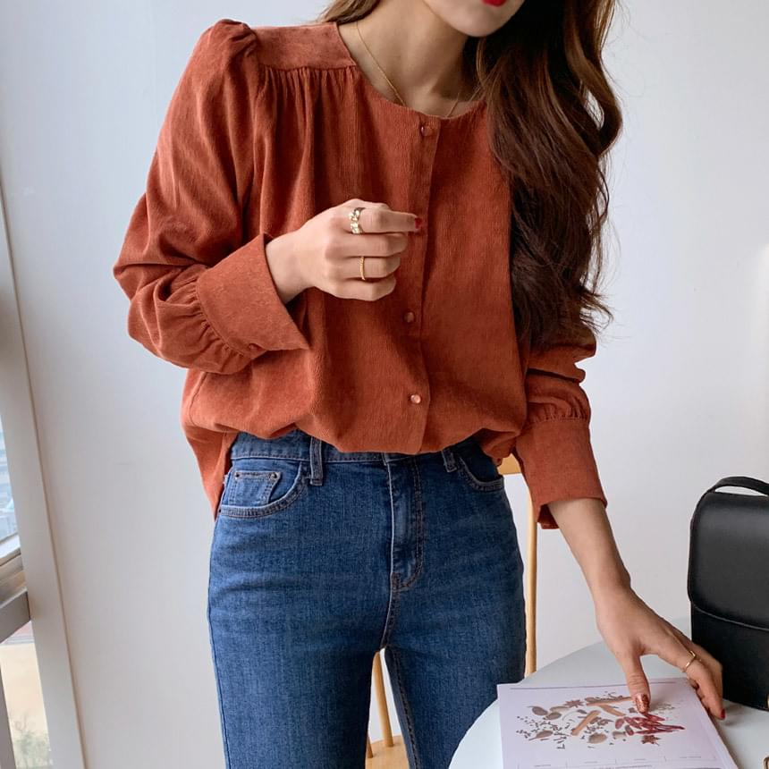 Any Cold Gold Blouse