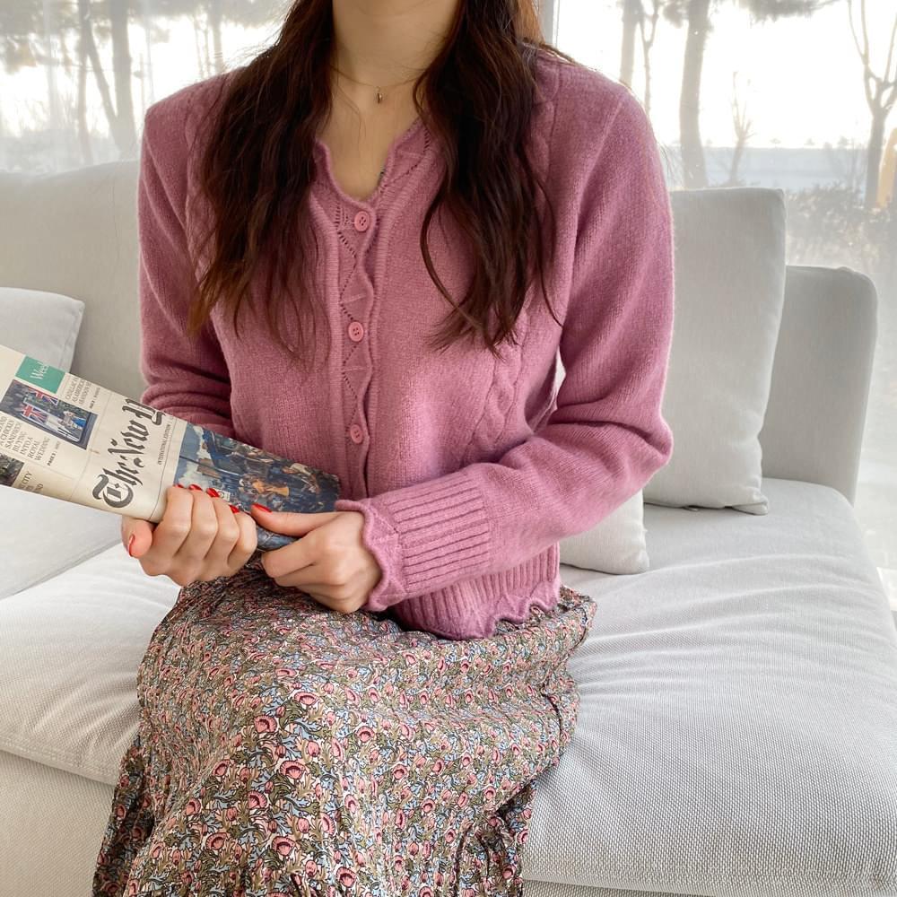 Zigzag knit