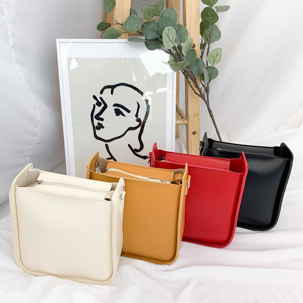 701 square two-way shoulder bag