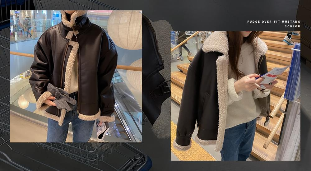 #made some fuzzy overfit Shearling