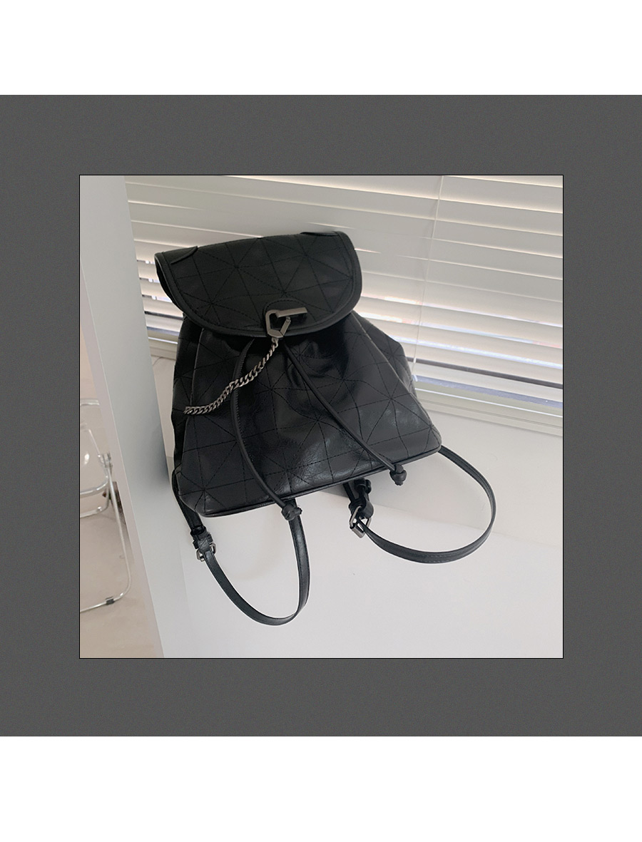 Lond Chain-Chain Shoulder Backpack