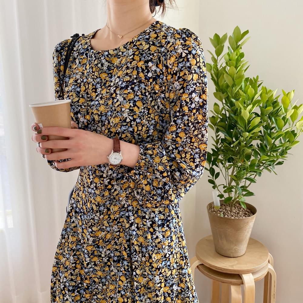 Pudding Flower Dress
