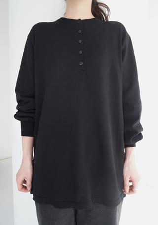 henly neck loose knit