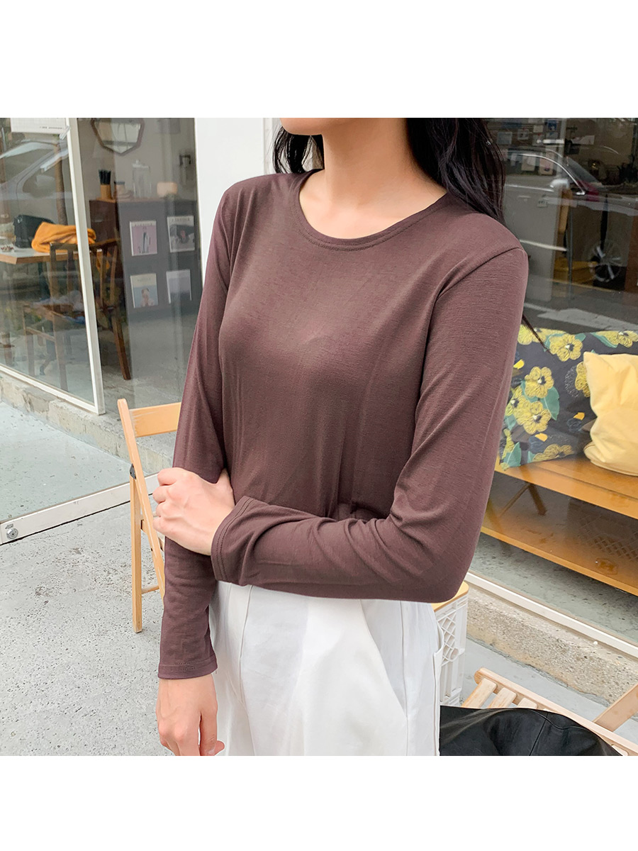 Autumn Soft Round T-Shirt