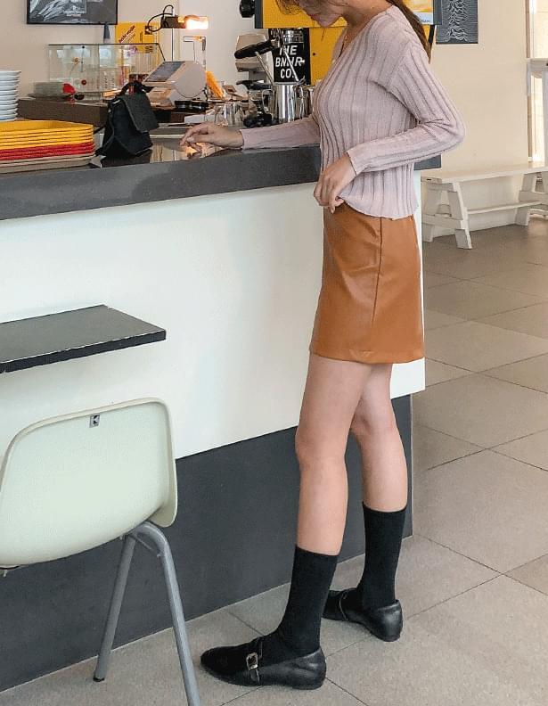 Stitched lining skirt