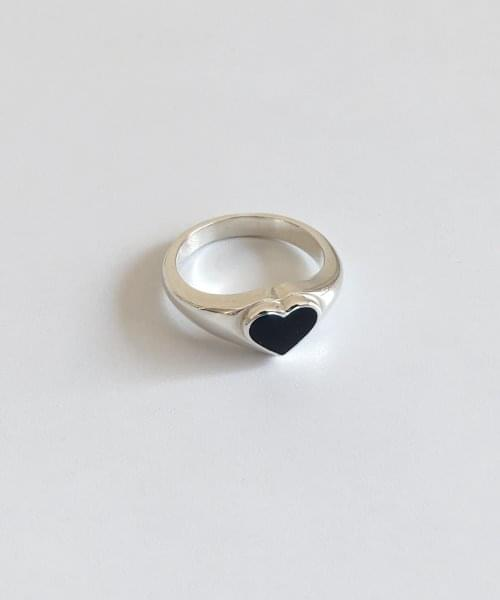 black sile ring ring
