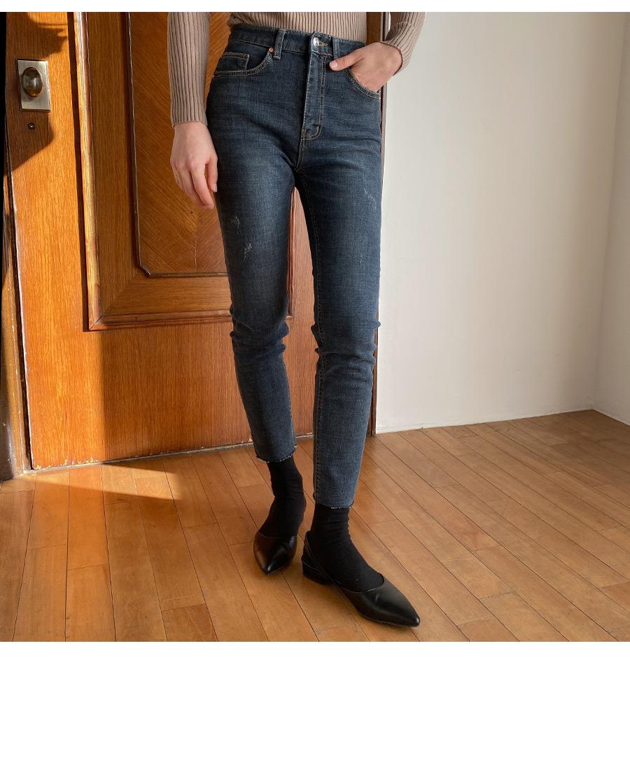 Wannabe brushed denim pants