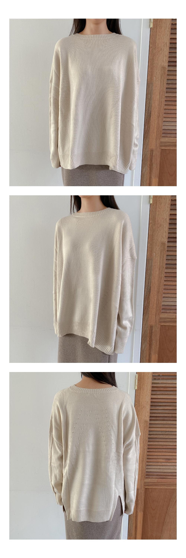 Standard wool round knit