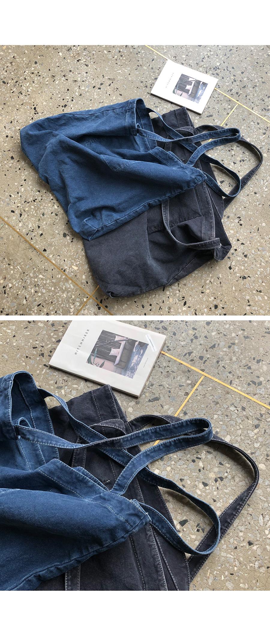 Casual Big Denim Shoulder Bag