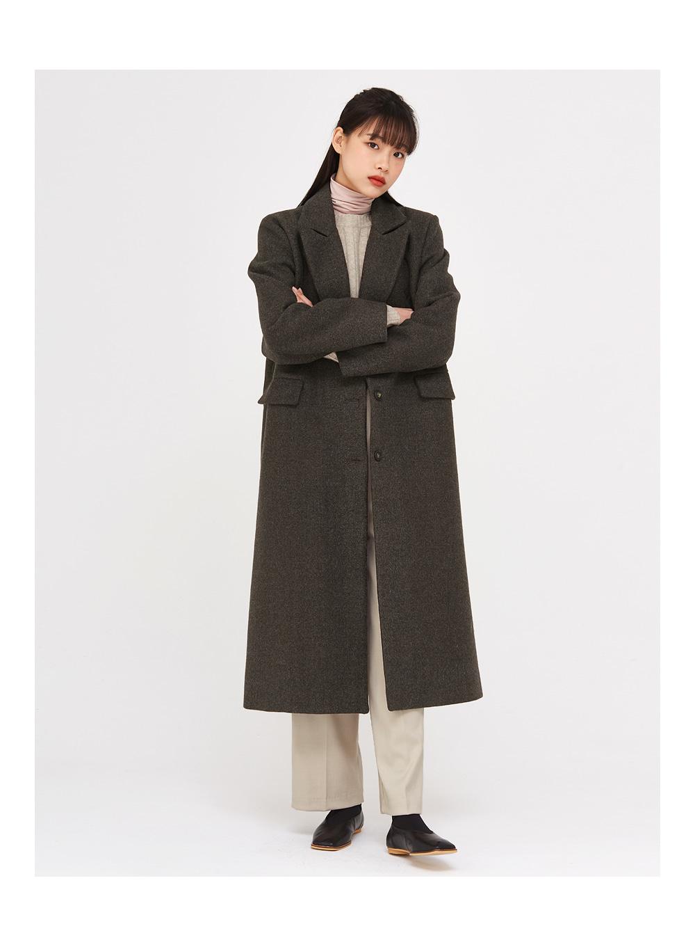 mend single long coat
