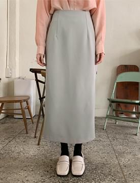 Rossi soft long skirt_C スカート