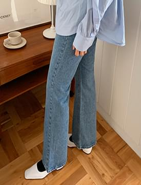 Can boots-cut denim pants_C デニムパンツ