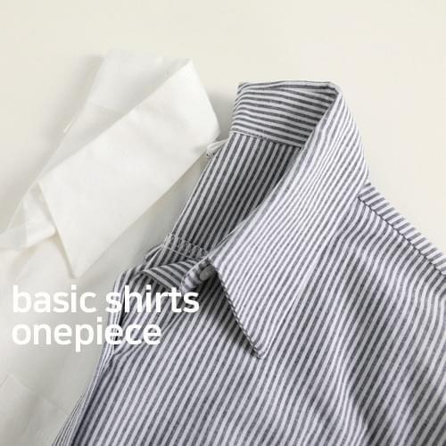 Moden long shirt dress