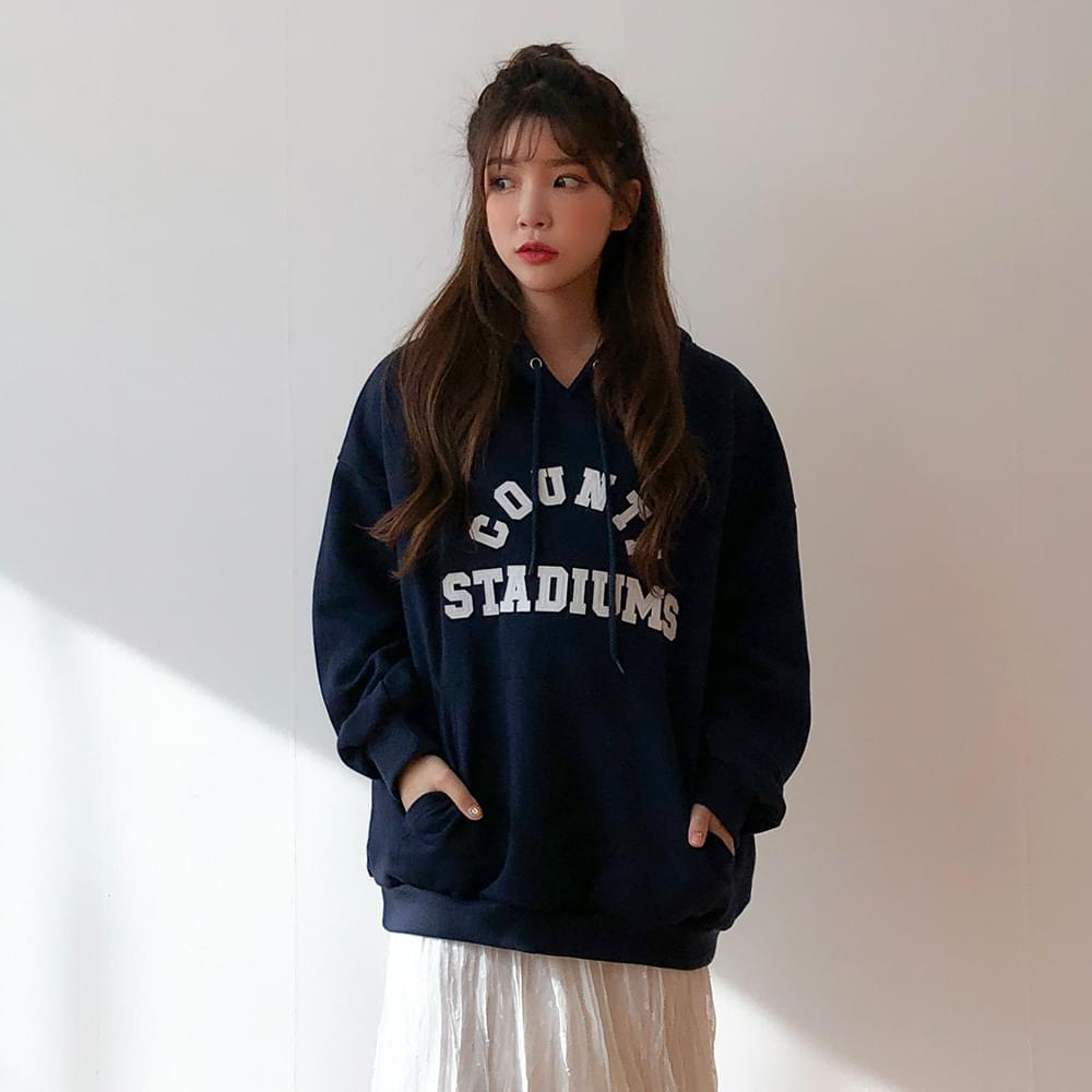 Stadium color hooded T-shirt