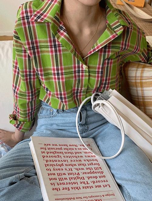 Grand check shirt 襯衫