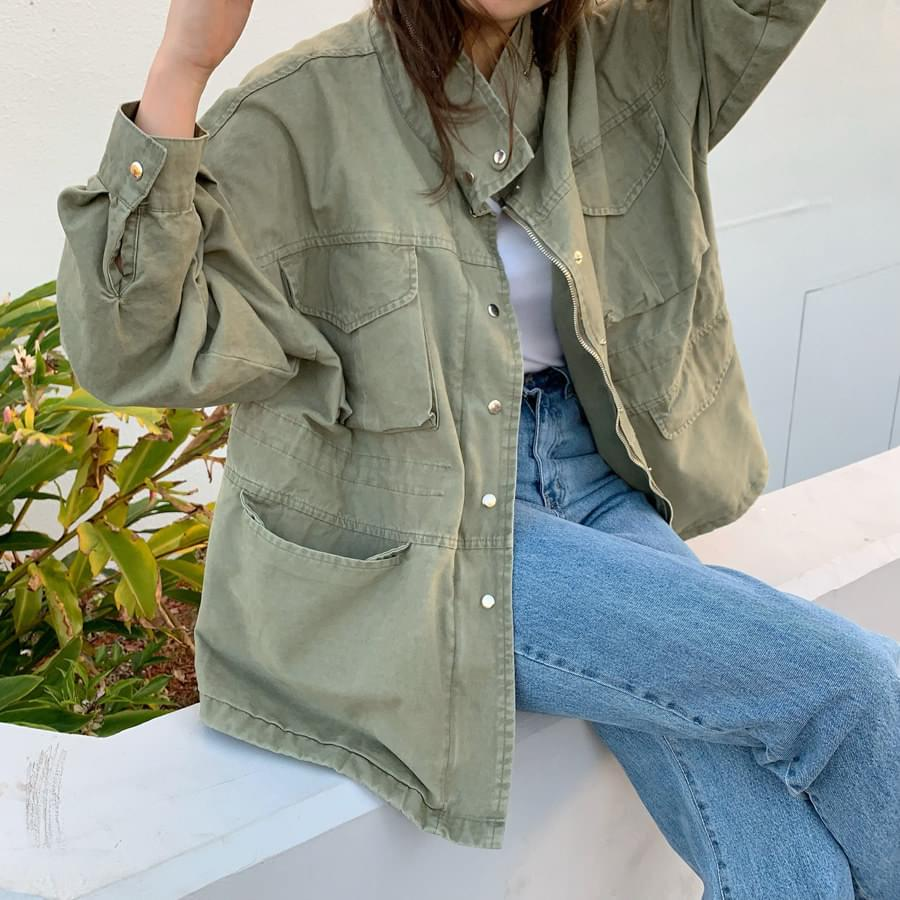 Army cotton nocturnal jacket