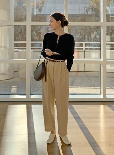 베넨 핀턱 pants (*2color) 옐로우m