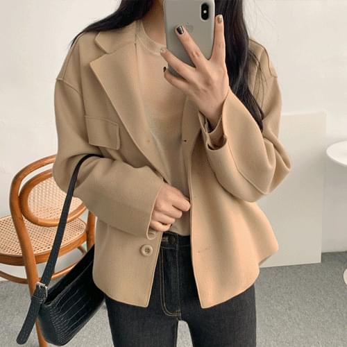 Shiasemi cropped jacket