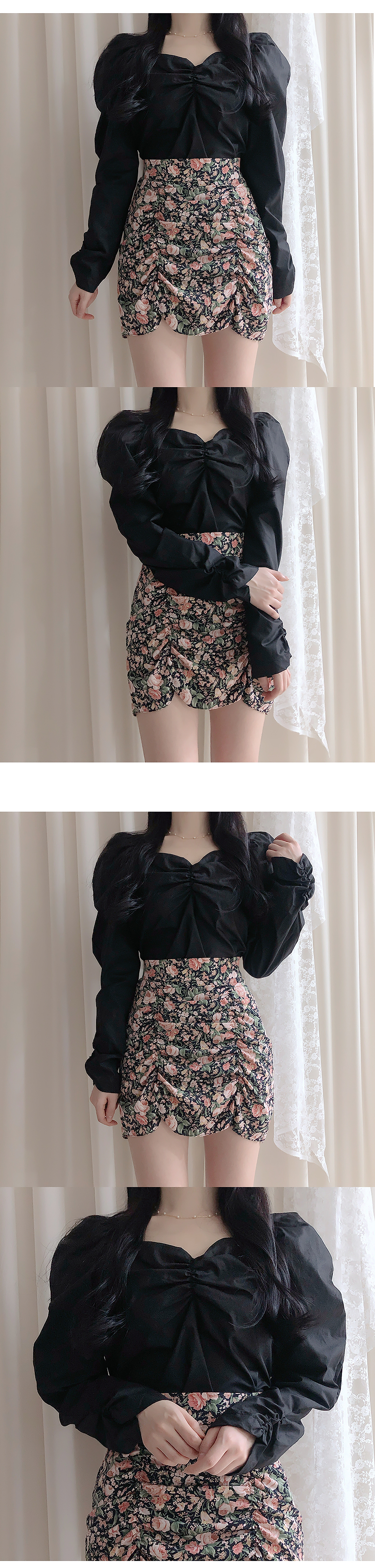 Jolly puffing blouse