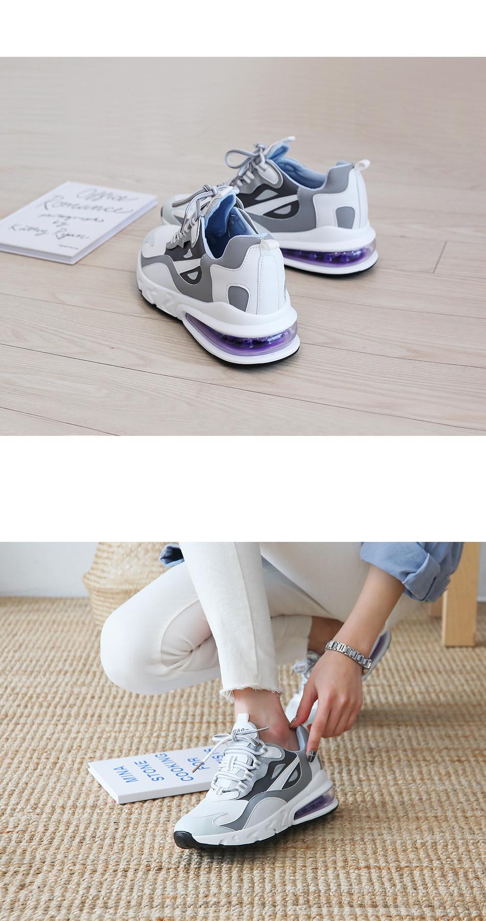 Purple Air Height Sneaker 6cm
