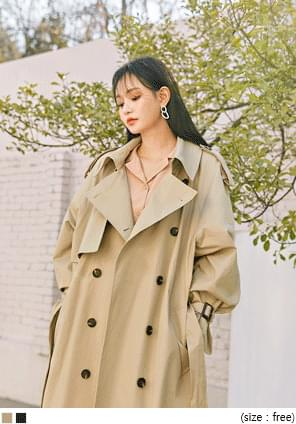 AVA DOUBLE TRENCH COAT