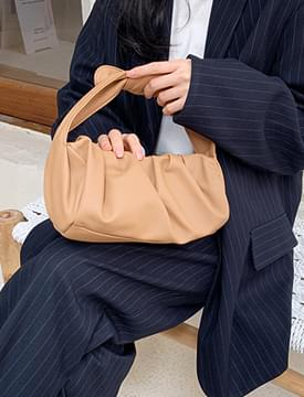 Bind strap shirring bag_C (size : one)