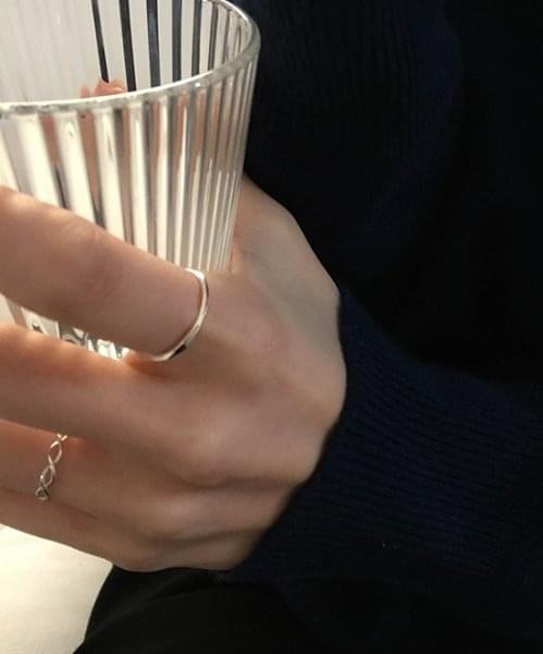 (silver925) cut ring