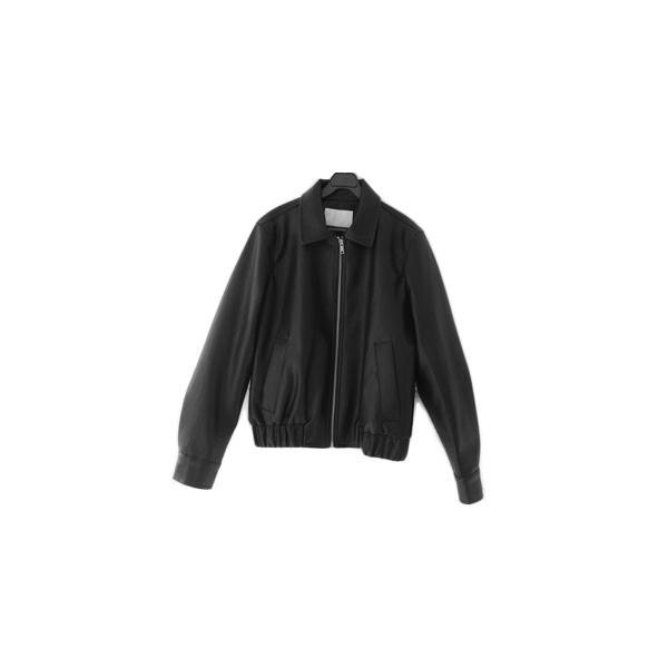 mild fake leather jacket