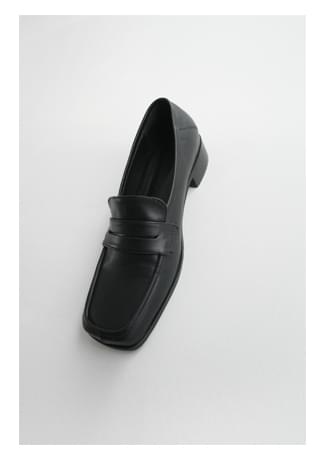 classic square middle loafer (2colors)