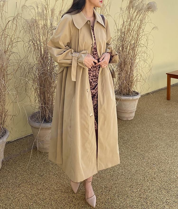 Outsider Trench Coat coat