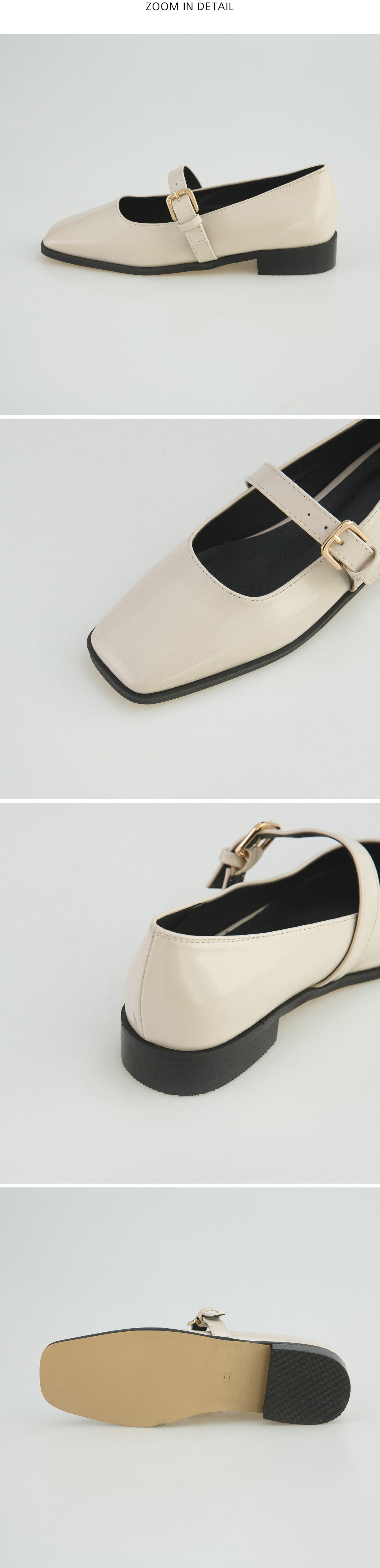 Girly strap Mary Jane shoes