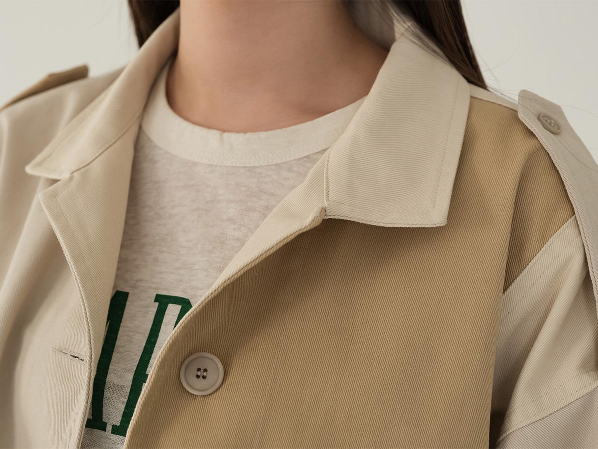 Unique Combi-Color Cotton Jacket
