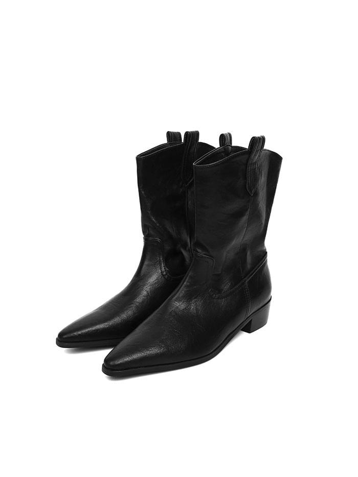 western slim ankle boots