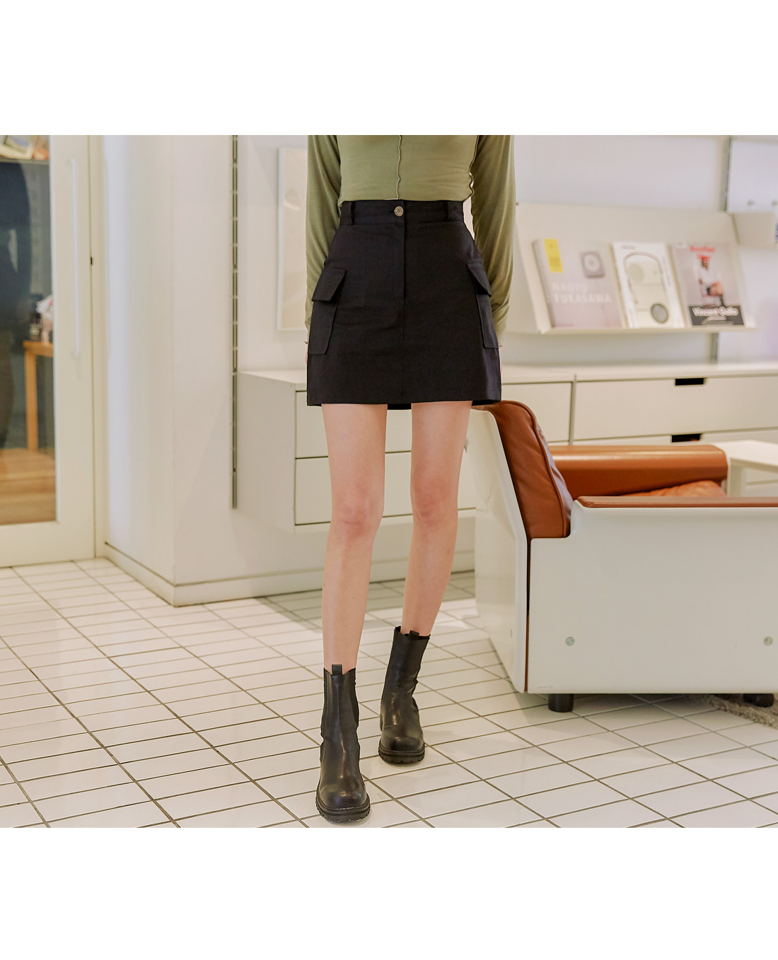 TRUBY POCKET CARGO MINI SKIRT