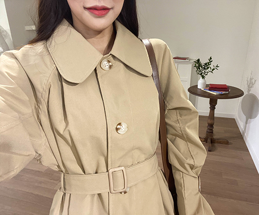 Outsider Trench Coat