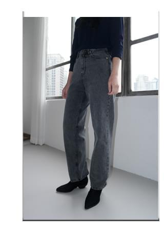 cool washing denim pants 牛仔褲