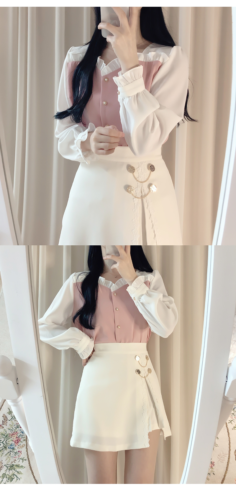 Same day delivery ♥ Ferris color blouse