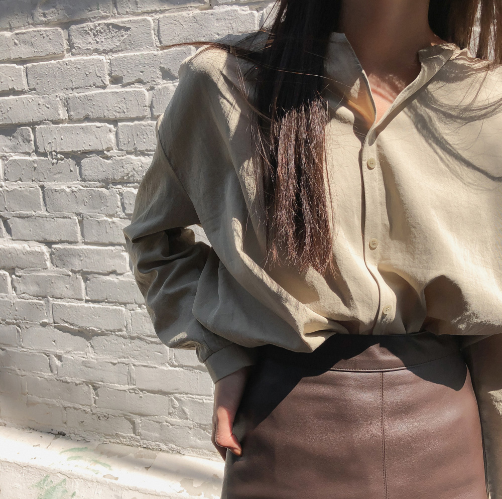 Basic nokara cotton blouse