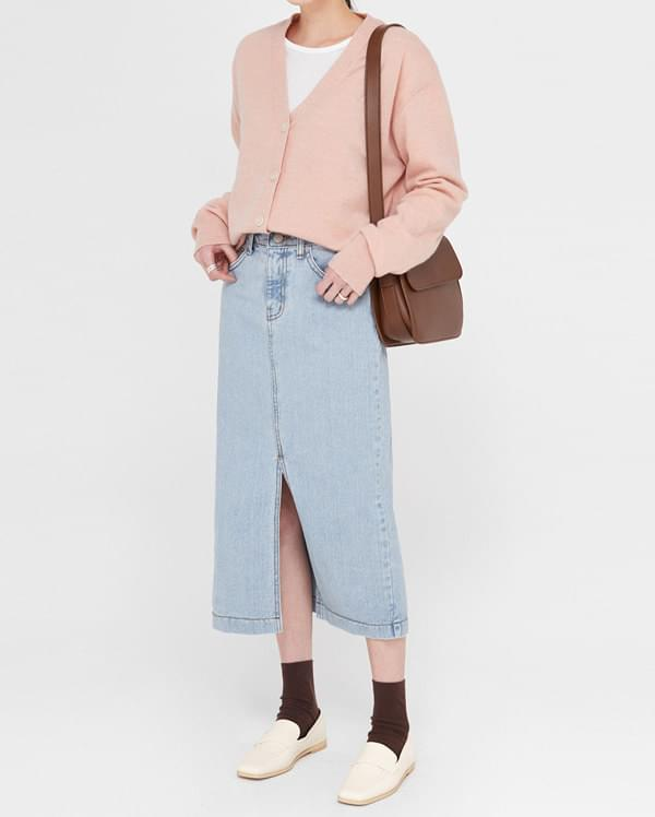 tend denim long skirts スカート
