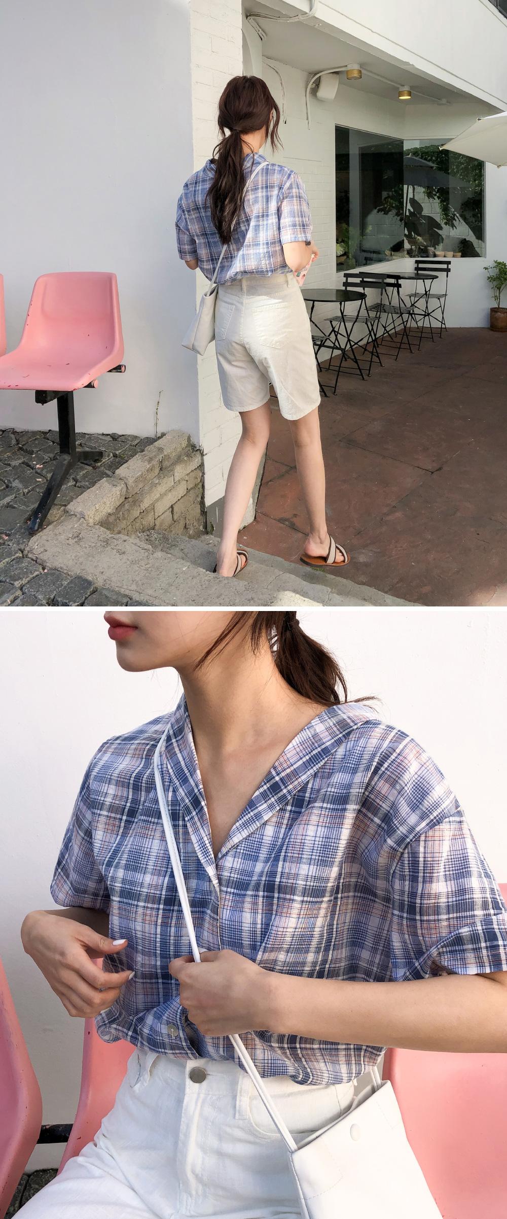 Basic 4 cotton short pants