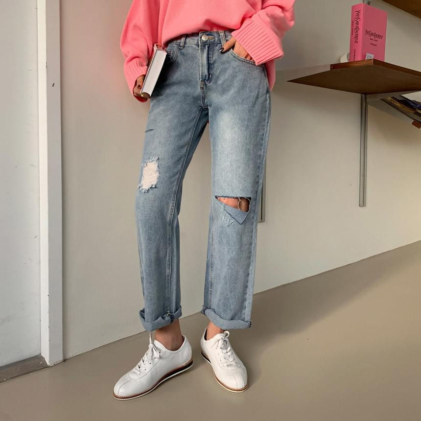 Neutro vintage denim pants