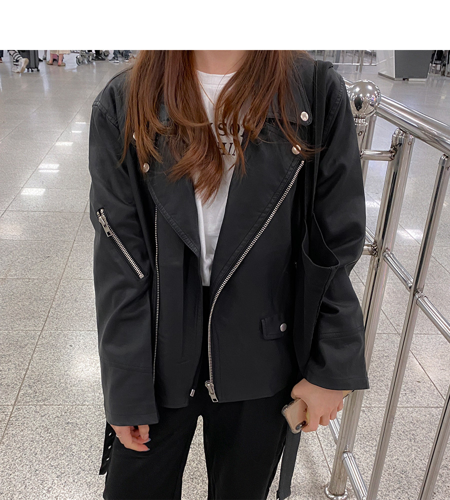 Overfit Daily Rider Jacket