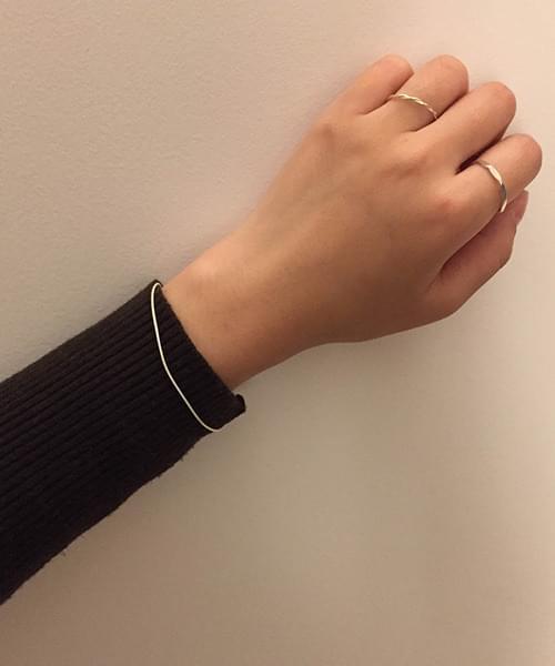 (silver925) magarin bracelet