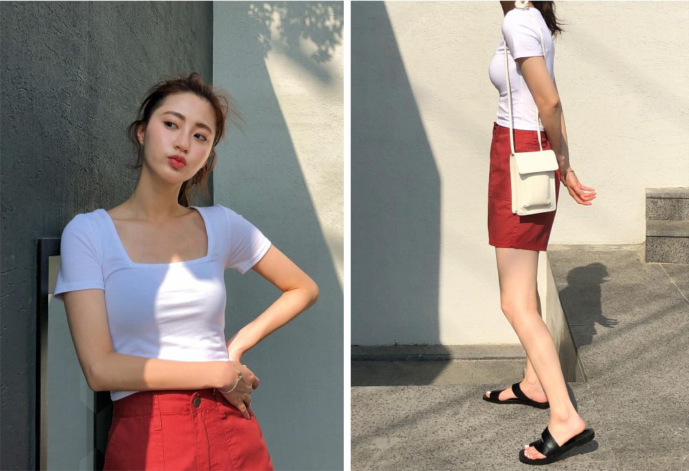 Colorful Big Pocket Part 4 Cotton Short Pants